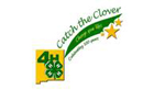 Image of 'catch the clover' logo.
