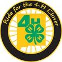 Ride for the 4-H Clover.