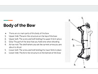 (Thumbnail of a slide showing text and a bow)