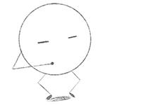 (Thumbnail of round circle character getting ready to jump.)