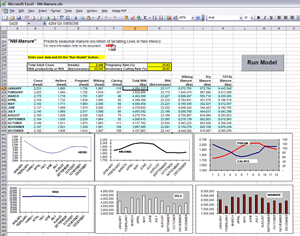 Image of a piece of a spreadsheet