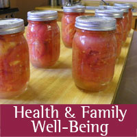 health family programs at tribal extension